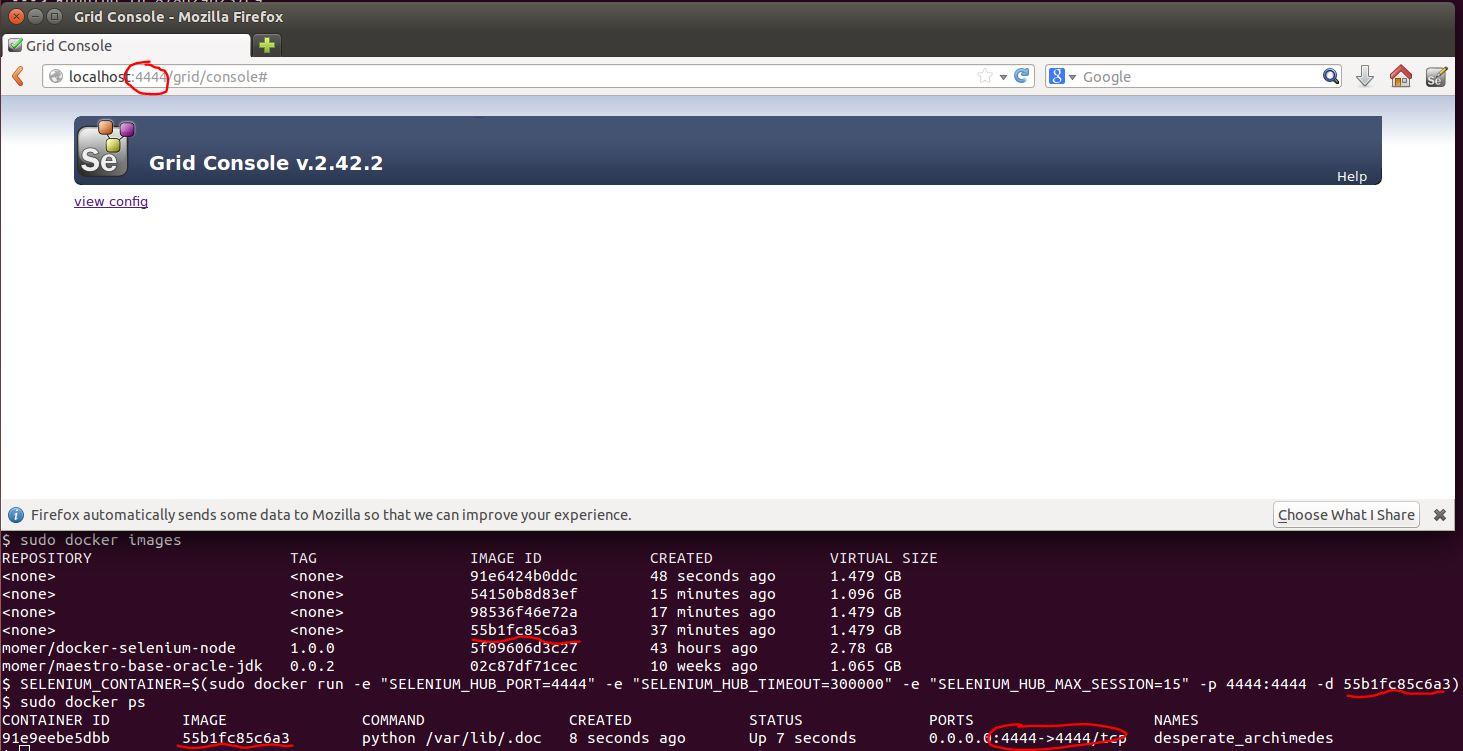 Docker – Build A Docker Container to run Selenium Grid