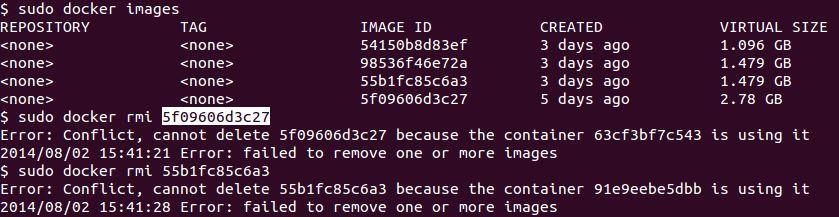Docker Remove Existing Docker Images Datafireball