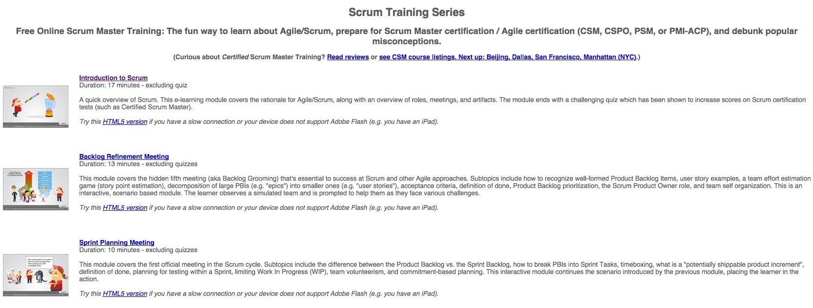 Scrum Free Online Strum Training Series Datafireball