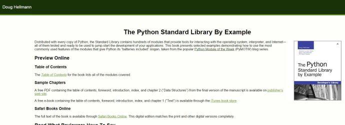 pythonstandardlibrary