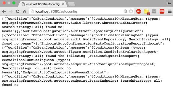 Spring-boot: actuator default endpoints   datafireball