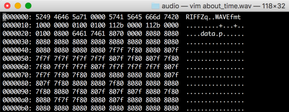 WAV – Deepdive into file format   datafireball