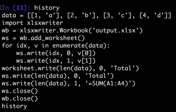 Python Write Formula to Excel   datafireball