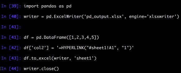 Python Write Formula to Excel | datafireball